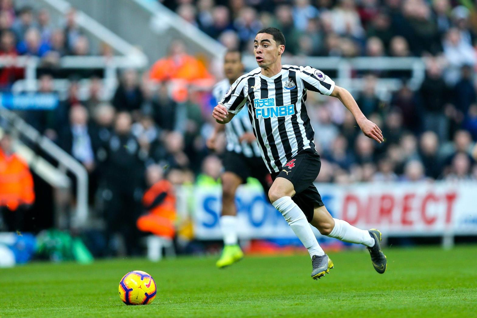 Miguel Almiron Newcastle United Premier League