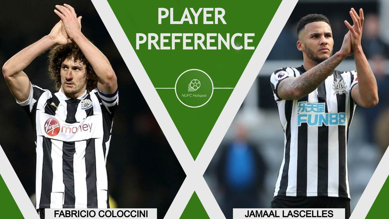 Fabricio Coloccini Jamaal Lascelles Player Preference NUFC