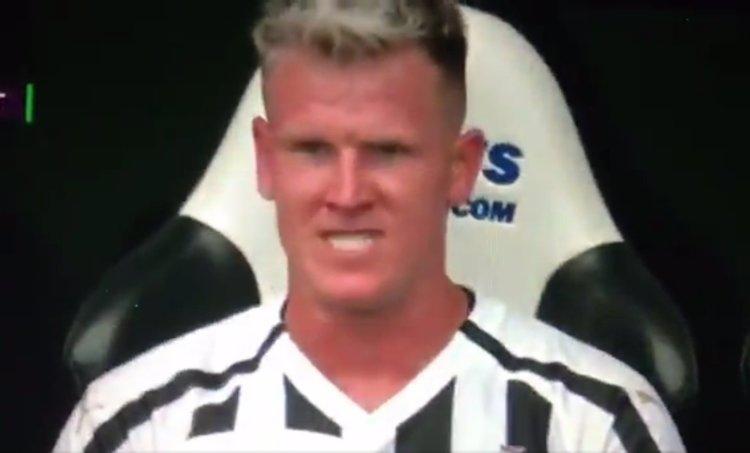 Matt Ritchie Angry NUFC Hotspot Newcastle