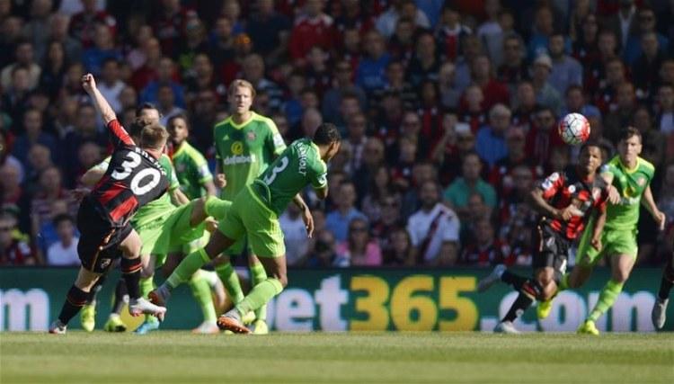 Matt Ritchie Bournemouth Sunderland Premier League