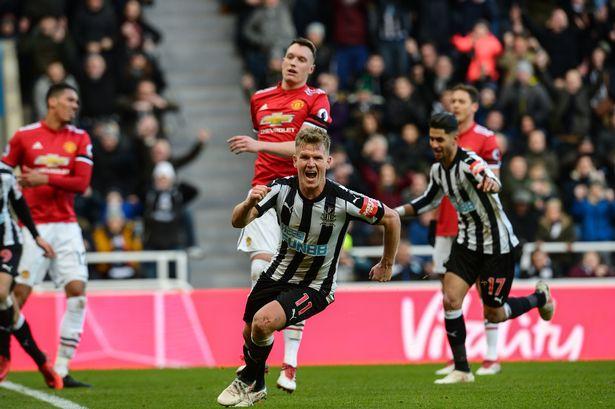 Matt Ritchie Manchester United Goal