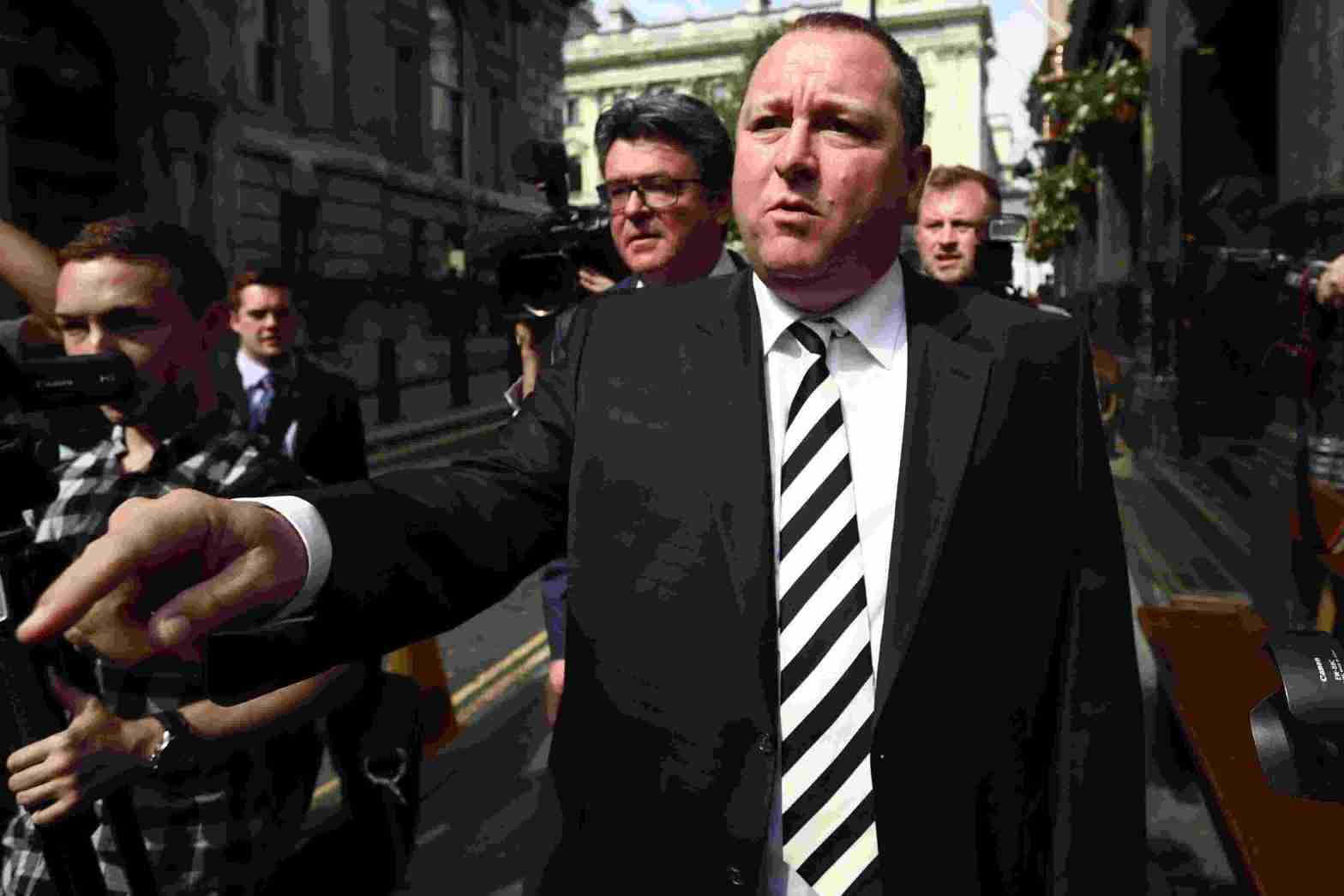 Mike Ashley NUFC Hotspot Takeover