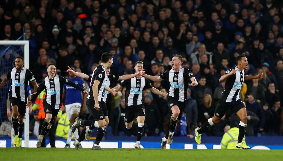 Newcastle NUFC Everton EFC Late Draw