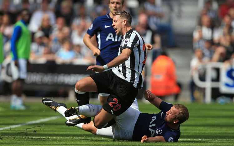 NUFC Hotspot Florian Lejeune Injury Harry Kane
