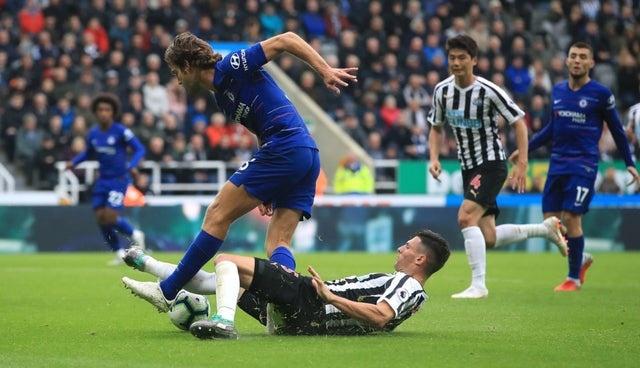 NUFC Hotspot Schar Chelsea Penalty