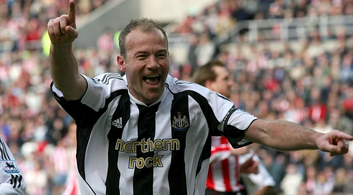 NUFC Hotspot Alan Shearer Newcastle Striker