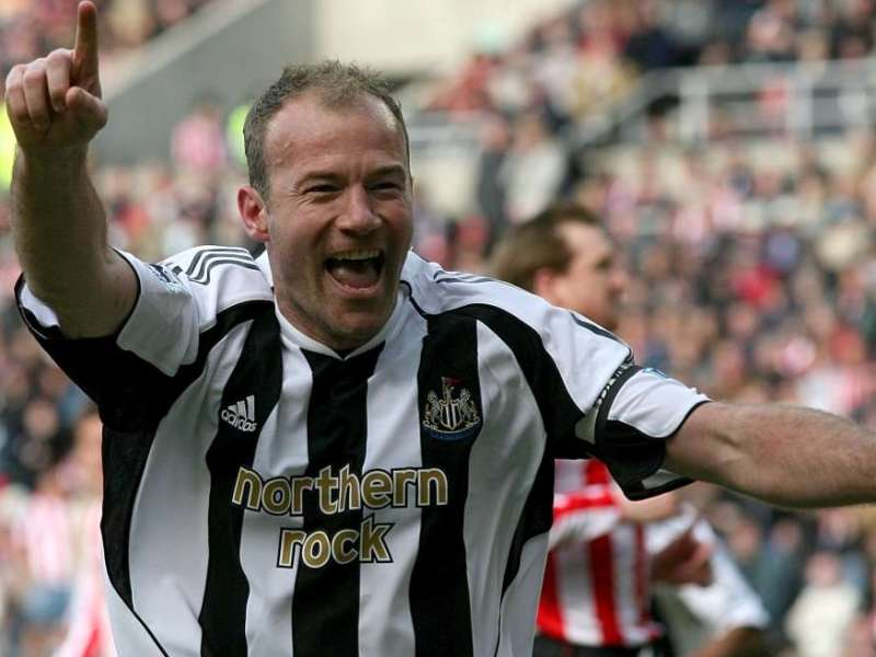 NUFC Hotspot Alan Shearer Newcastle Striker