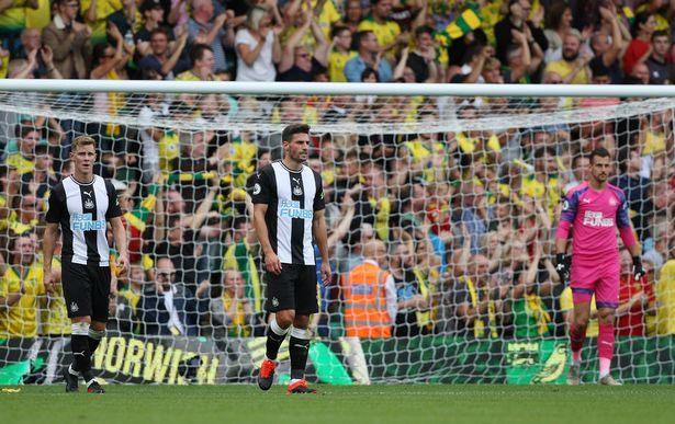 NUFC Hotspot Opinions Norwich Loss