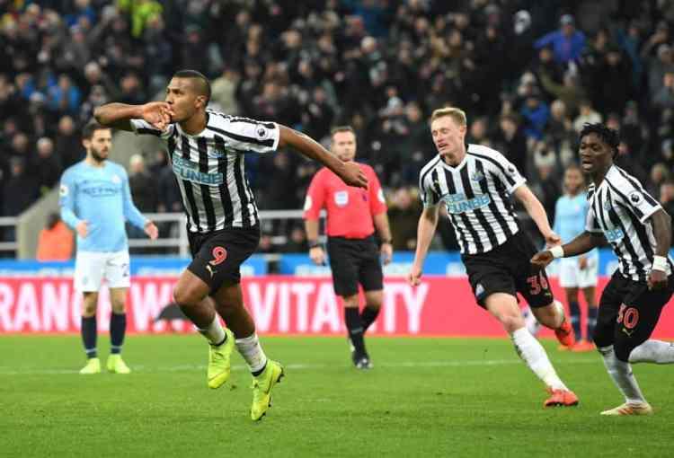NUFC Hotspot Rondon Goal Man City Previous 3 Points