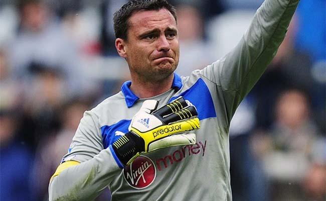 NUFC Hotspot Steve Harper Newcastle Aston Villa Goalkeeper