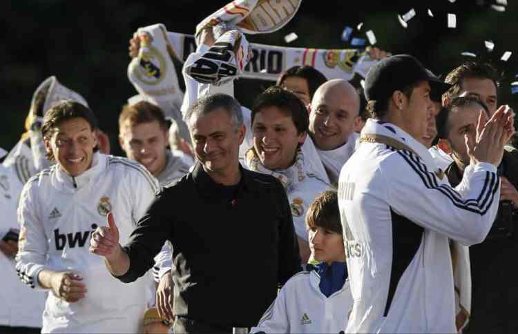 NUFC Hotspot Newcastle Mourinho Real Madrid Trophy